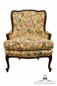 Ethan Allen Louis Xvi Country French Regency Wingback Accent Chair 13 7127