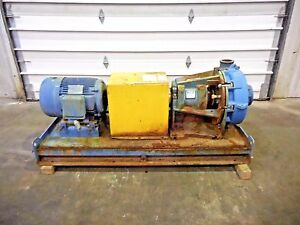 Rx 3634 Metso Hm150 Lhc d 6 X 4 Slurry Pump W 25hp Motor And Frame