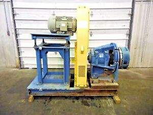 Rx 3607 Metso Mm250 Lhc d 10 X 8 Slurry Pump W 15hp Motor And Frame