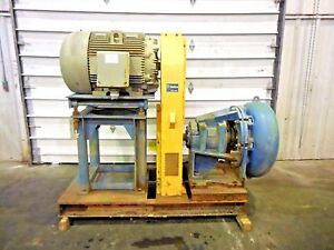 Rx 3601 Metso Mm250 Fhc d C5 10 X 8 Slurry Pump W 100hp Motor And Frame