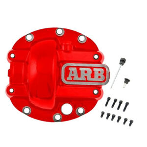 Arb Red Powder Coated D30 Nodular Iron Hd Differential Cover Arb750002
