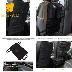 Onetigris Car Seat Back Organizer Tactical Molle Vehicle Panel Car Seat Cover P