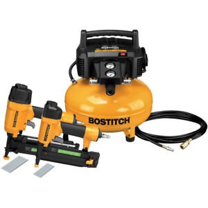 Bostitch 2 piece Nailer And Compressor Combo Kit Btfp2kit r Reconditioned