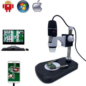 1600x Digital Microscope Endoscope Usb Camera Portable With Stand