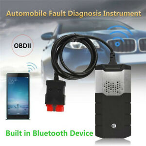 Diagnostic Scanner Kits Vci Obdii Ds Cars Trucks Cd Software With Bluetooth