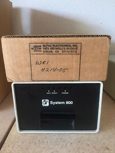 Ilco Unican System 800 Hotel Card Reader System Program Model 502839 New