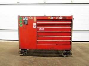 Mo 2479 Snap On Tool Box W 13 Drawer And 2 Door Cabinet