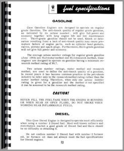 Operators Manual Case 450 Crawler