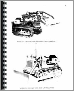 Parts Manual Case 310 Crawler