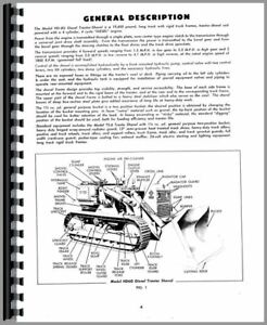 Operators Manual Allis Chalmers Hd6g Crawler Sn 0 11094