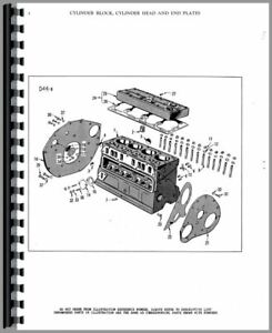 Parts Manual Massey Harris Mustang Tractor