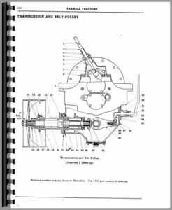 Parts Manual Farmall Mccormick Deering Regular Tractor