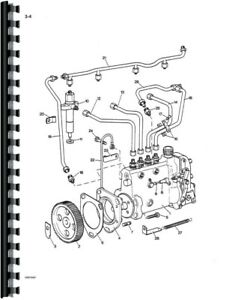 Parts Manual Case David Brown 1210 1212 Tractor