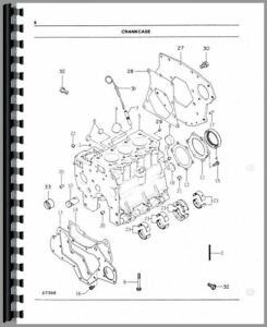 Parts Manual White 16 Field Boss Tractor