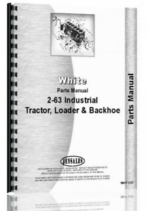 Parts Manual White 2 63 Forklift