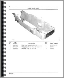 Parts Manual Oliver White 2255 Tractor