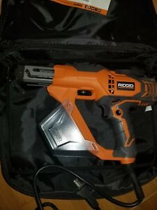 Ridgid 3 In Drywall And Deck Collated Screwdriver Corded Screw Tool R6791