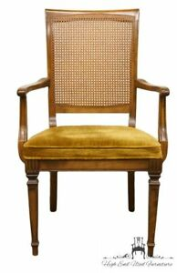 Ethan Allen Classic Manor Cane Back Dining Arm Chair 15 6021a