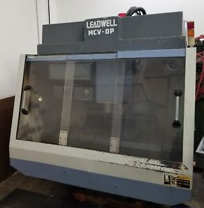 Leadwell Mcv Op Vertical Maching Center Cnc