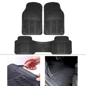 Rubber Car Floor Mats For Car Suv Truck Van 100 Odorless All Weather Protection