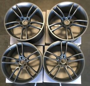 19 Mrr M600 Wheels For 2015 2018 Ford Mustang S550 Gt350 Concave Rims Set