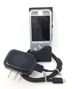Philips Dpm Digital Pocket Memo Recorder Dss W Case Tested Works Great