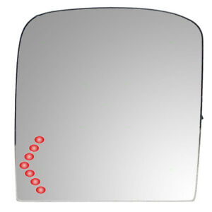 New Drivers Power Tow Mirror Glass Heated Signal Chevy Gmc Cadillac Pickup Truck