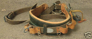 Vintage Klein Tools Tree Pole Climbing Belt Model 5266n24 Size 40 48