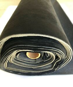 Suede Auto Headliner Repair Foam Backed Fabric black 72 x60 1 Adhesive Can