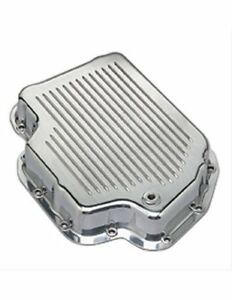 Summit 433884 Transmission Pan Aluminum Polished Finned Gm Th400 Each