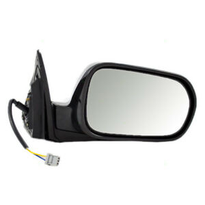 New Passengers Power Side Mirror Glass Housing Assembly For 02 06 Acura Rsx