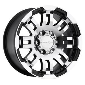 Vision Wheel 375 Warrior Series Black Wheel 375h8883gbmf18