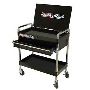 Specialty Tools Service Cart W Locking Lid Drawer