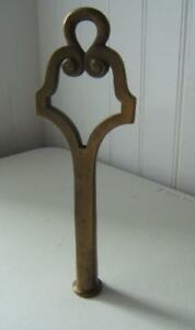 Antique Large Brass Finial 10 High
