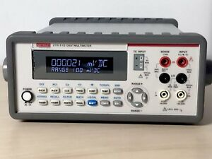 Keithley 2110 120 5 1 2 Digital Multimeter Brand New W Calibration Certificate
