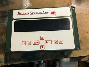 Process Sensors Corp Model 0i Touch Pad Control Panel Tested