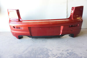 2009 Mitsubishi Lancer Evo Ralliart Oem Factory Red Rear Bumper Cover 87