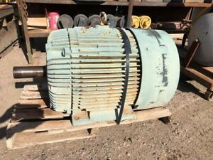 Reliance 100 Hp Duty Master Electric Motor 1800rpm Frame 405t Model p40g0332g