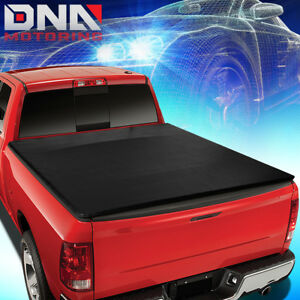 For 1994 2003 Chevy S10 Gmc Sonoma 6 Short Bed Top Soft Roll Up Tonneau Cover