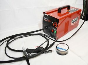 Brand New Lincoln Century 80gl Flux Core Wire Feed 70amp Electric Welder 22365 1