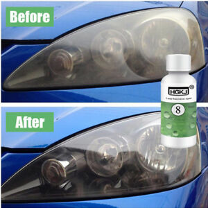 Car Lens Repair Kit Headlight Brightening Headlight Repair Scratch Remover Auto
