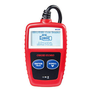 Ms309 Obd2 Obdii Car Reader Diagnostic Tool Scanner Code Auto Diagnostic