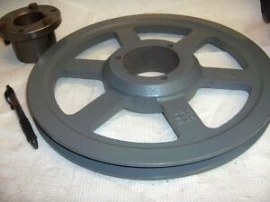 12 3 4 Pulley Browning V Belt Includes Q1 Bushing 3 4 To 2 11 16 Bore 1tb124