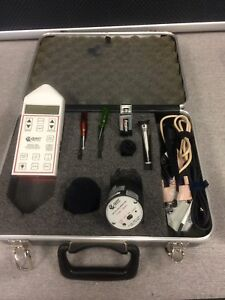 Quest Integrating Logging Sound Level Meter 2900 Working Free Shipping