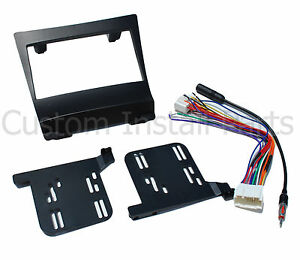 Double Din Stereo Radio Dash Install Kit Wire Antenna Fits Acura Tsx 2004 2008