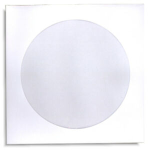 200 pak White Paper Cd dvd Sleeves With Window And No Flap 100gram Weight