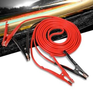 Heavy Duty 25ft 4 Gauge Copper Wire Battery Jumper Cables Jump Start Booster Kit