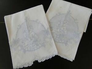 Antique Linens Two Appenzell Tea Towels W Lady In Period Dress
