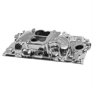 Edelbrock Performer Intake Manold Chevy B396 427 454 Fits Oval Port Heads 21614