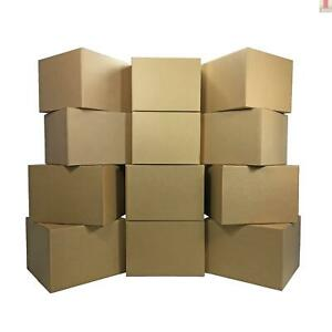 12 Large Moving Boxes 20x20x15 inches Packing Cardboard Boxes